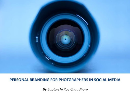 Personal Branding in Social Media for Photographers
