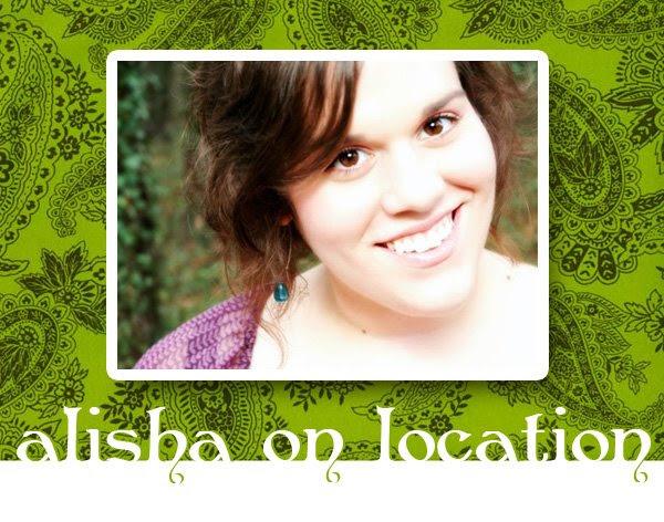 Alisha on Location