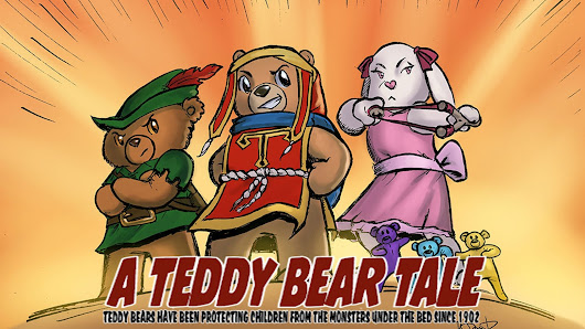 Awakenings Act Two - A Teddy Bear Action Comedy Comic Book