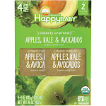 Happy Baby Clearly Crafted Organic Baby Food - 4 pack, 4 oz pouches