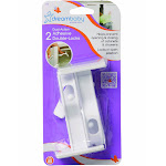 Dreambaby Dual-Action Adhesive Double-Locks, 2.0 Pack