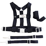 Baby Buddy 4-Piece Deluxe Security Harness, Navy