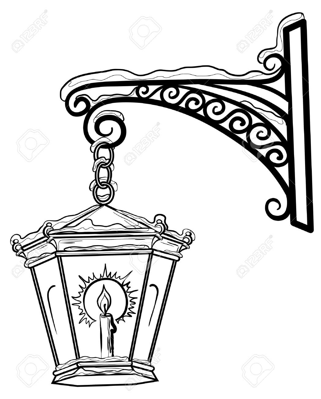 Narnia Lamp Post Drawing | Free download on ClipArtMag