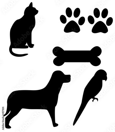 clip art dog house