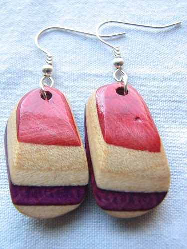 JOSEPH TAYLOR skate deck earrings!