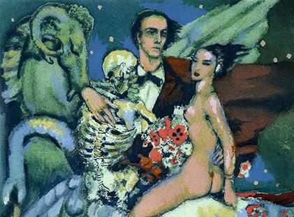 Federico Armando Beltrán Masses, Les Fleurs du Mal