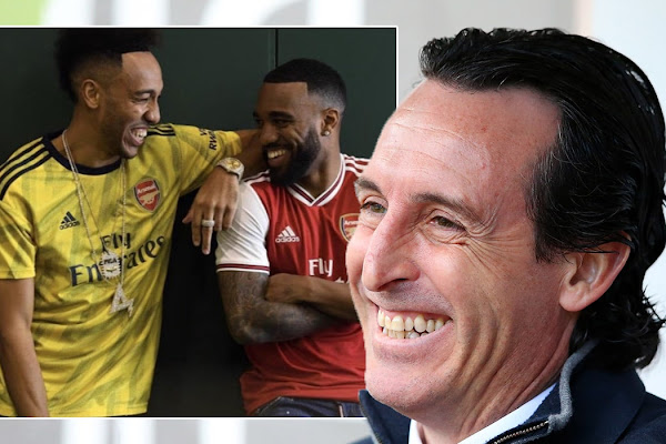 e90fcc945 Arsenal s hilarious reaction as they gush over new retro-inspired kits