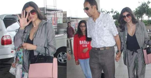 Sushmita takes off to Goa as her brother Rajeev Sen is getting married to actress Charu Asopa