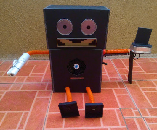 Trash Eating Robot: An Original Concept by Ren to Help Save Mother Earth - Mommy Levy