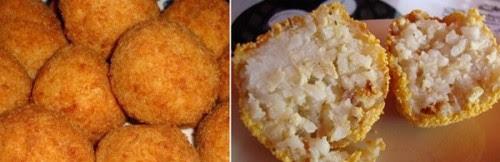 arancini di riso al burro,arancini,riso,zafferano,arancini al caciocavallo,ricetta arancini,