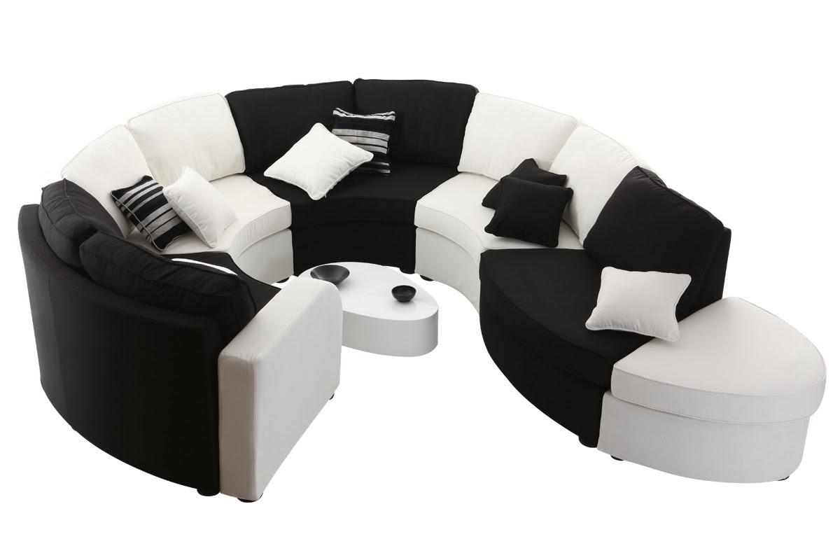 Canape angle arrondi design my moments in home - Canape modulable ikea ...
