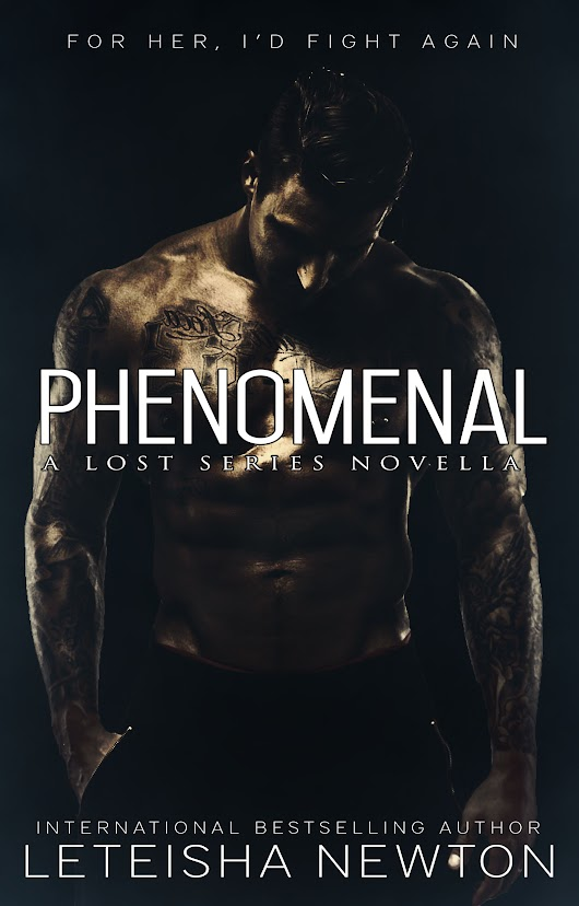 COVER REVEAL! Phenomenal Book 2.5 of the Lost Series