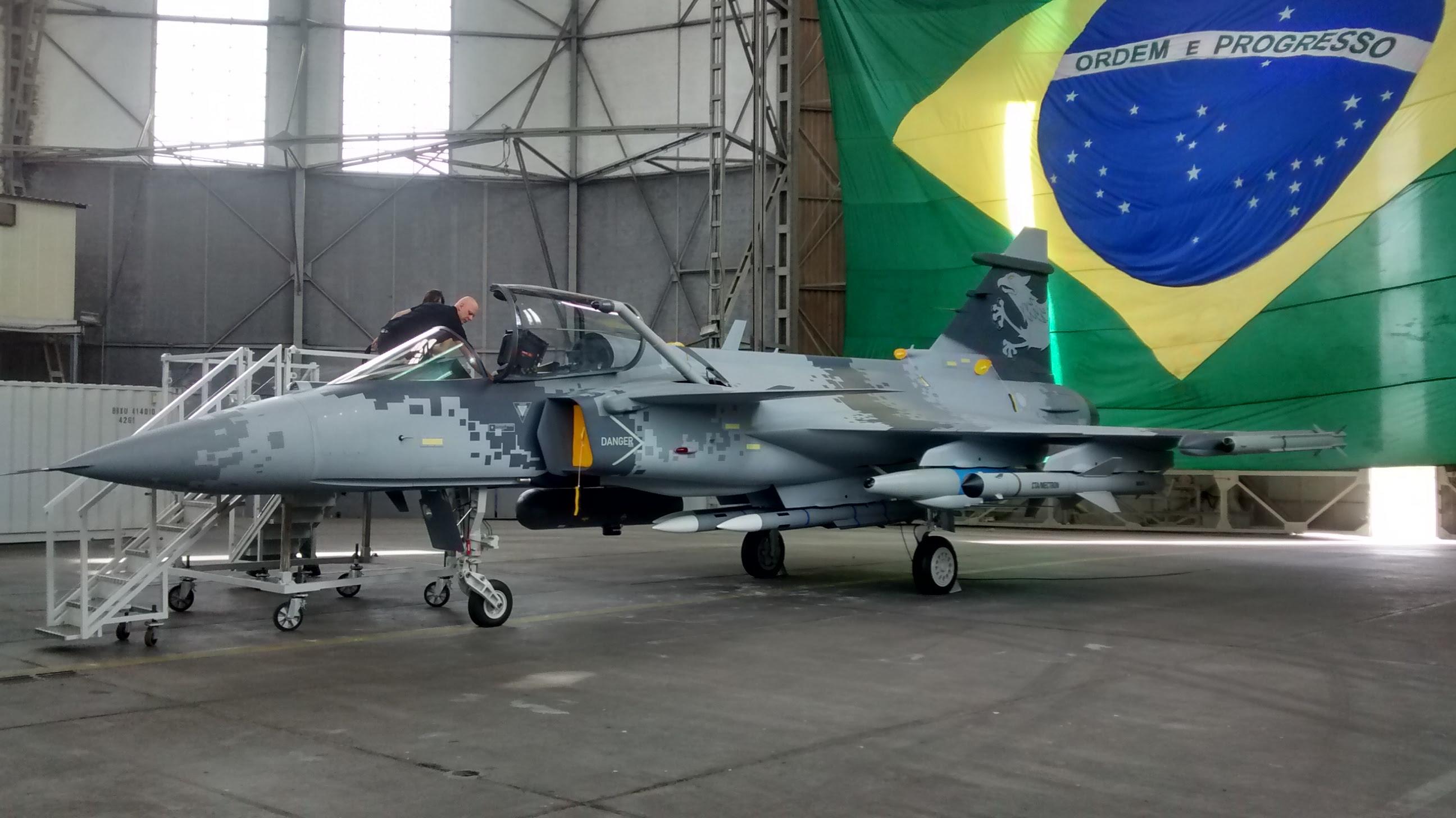 Resultado de imagen para Saab Gripen E BR