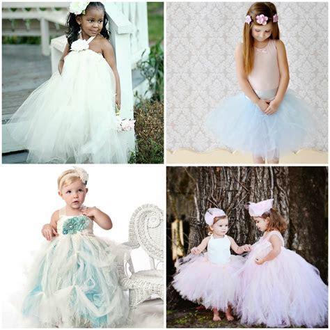 Weddings  the Joys and Jitters: Sweet Flower Girl Tutu Dresses