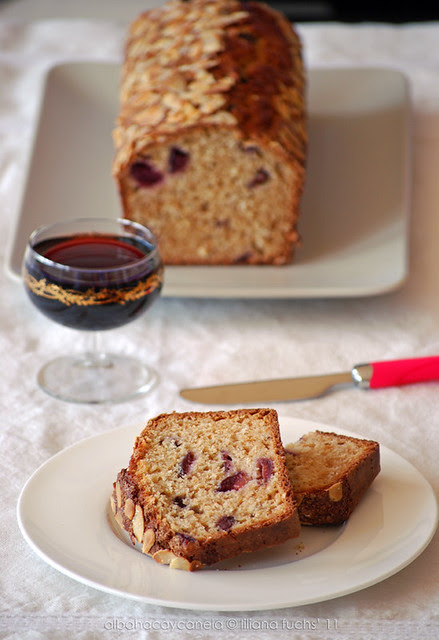 Cherry almond bread