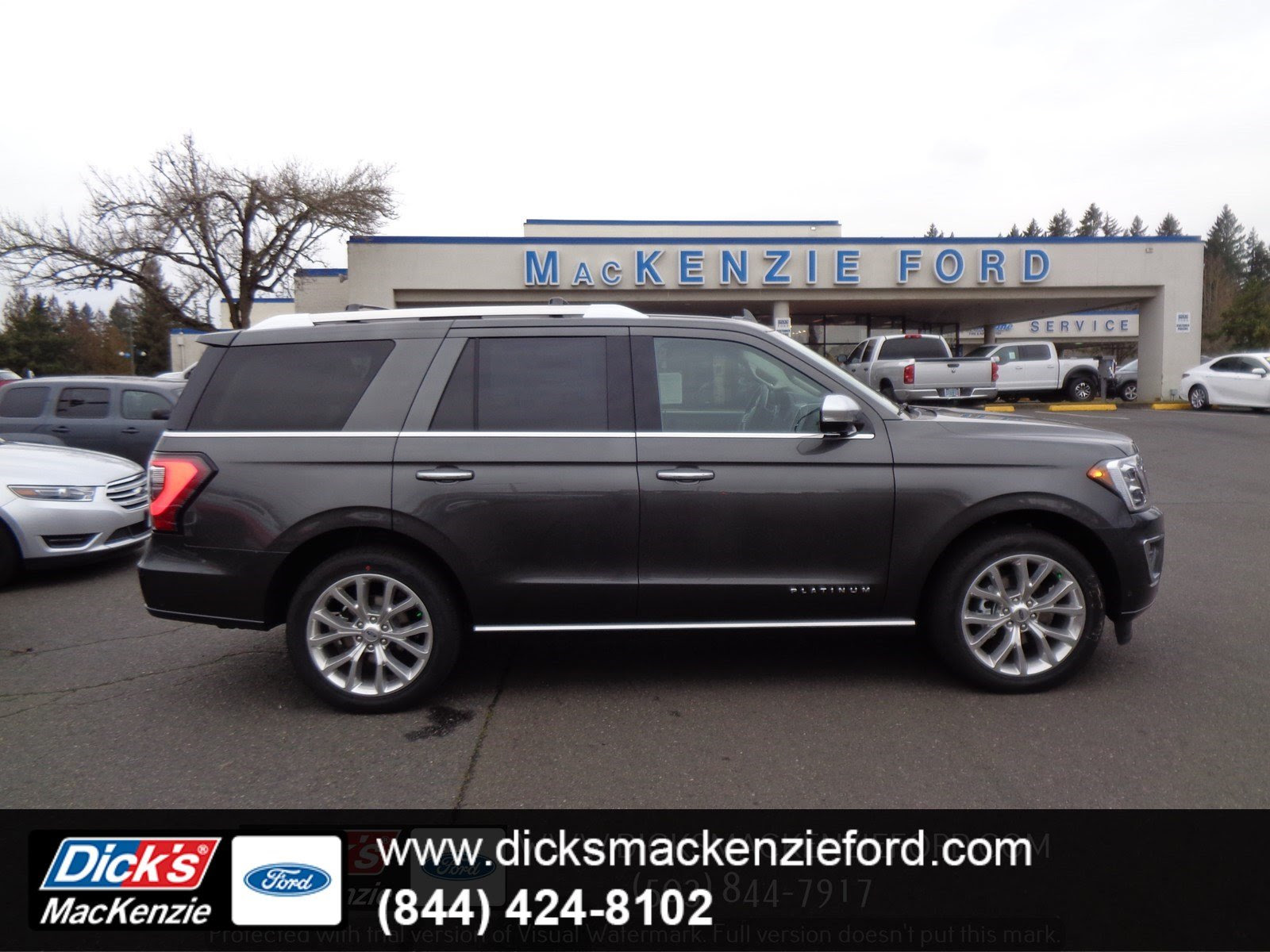 New 2019 Ford Expedition Platinum 4x4 With Navigation 4wd