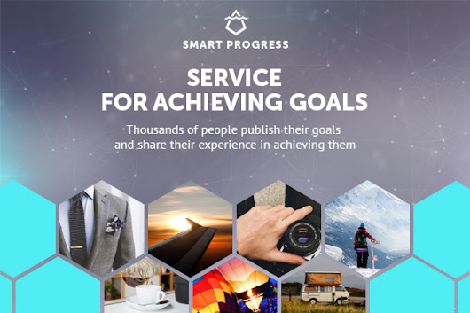 SmartProgress – Service for setting and achieving goals