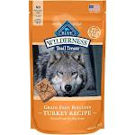 Blue Dog Treats, Natural Crunchy, Grain-Free Biscuits, Turkey Recipe - 10 oz