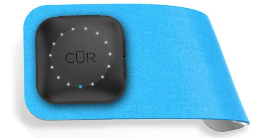 The $300 Cur wearable may literally be the answer to all your pain and suffering