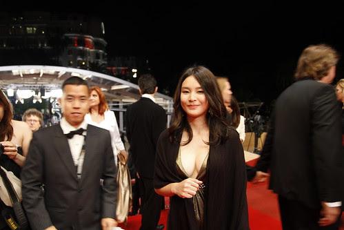 Ming Jin and Fooi Mun on red carpet