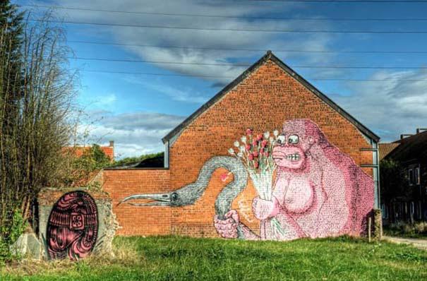 Doel: Το εγκαταλελειμμένο χωριό που παραδόθηκε στην τέχνη του δρόμου (28)