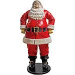 Design Toscano Jolly Santa Claus Statue - Grande, Men's