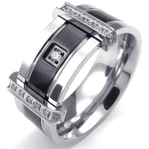 men wedding rings extraordinary stainless steel wedding