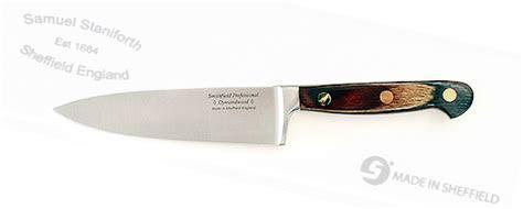 "The Famous Sheffield Shop ""Dymondwood"" 8 inch cook's knife"