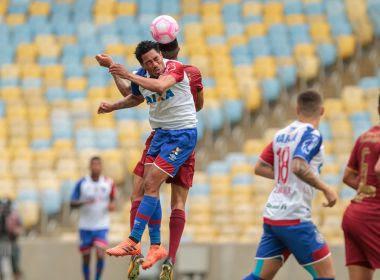 Em jogo movimentado no Maracanã, Fluminense e Bahia ficam no empate