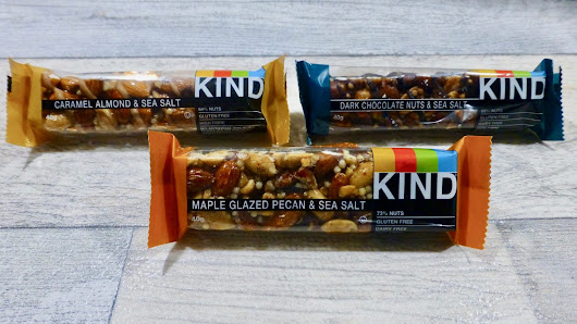 KIND Sea Salt Nut Bars - Nibbles 'n' Scribbles