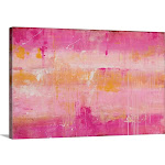 Pink Champagne | Canvas Wall Art | 30x20 | Great Big Canvas