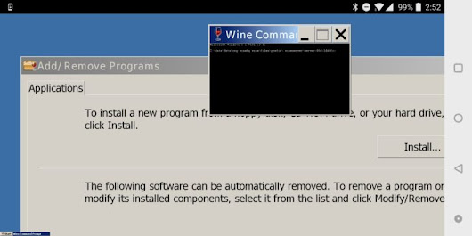 Wine, the popular Windows compatibility layer, can now be installed on Android