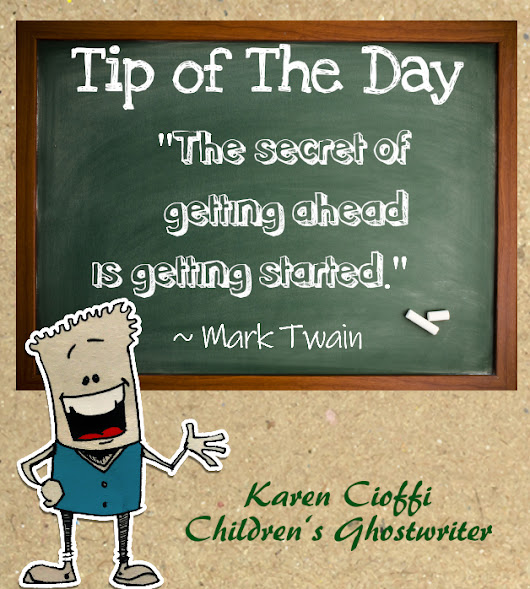 The Secret of Getting Ahead | Writing for Children with Karen Cioffi
