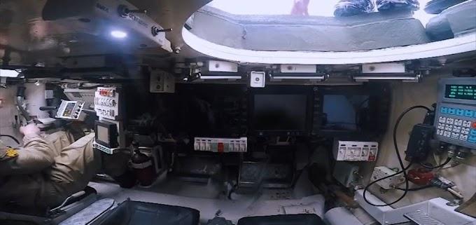 Revelada nova imagem do interior do tanque russo T-14 Armata