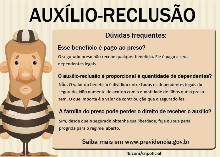 Benefcio recluso bolsa meliante ou dever social e direito do contribuinte