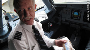 """Capt. Chesley """"Sully"""" Sullenberger piloted his last flight for US Airways on Wednesday."""
