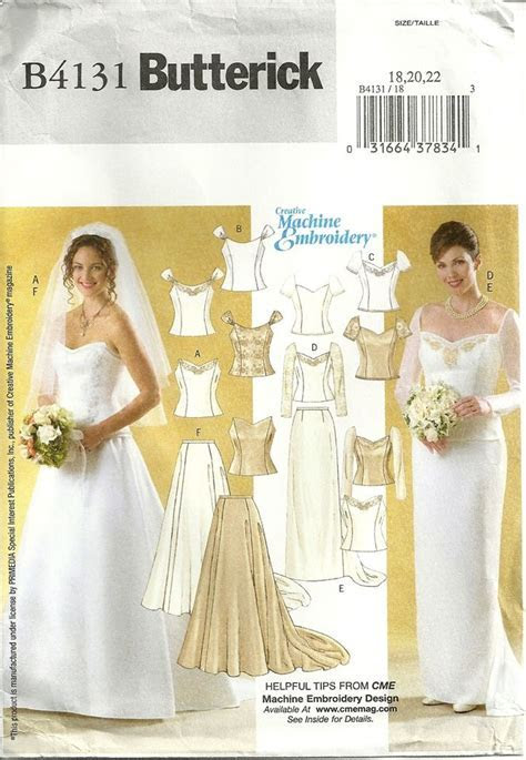 Wedding Dress Patterns To Sew
