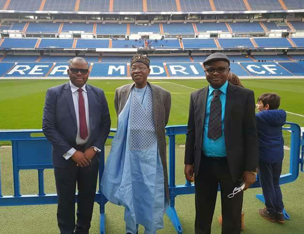 Check out Lai Mohammed