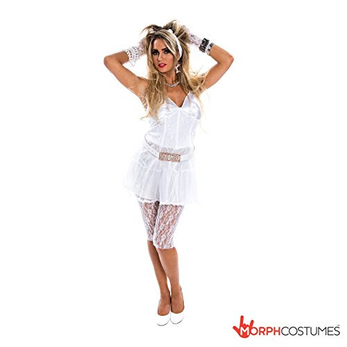 Womens 1980s Retro Diva Fancy Dress