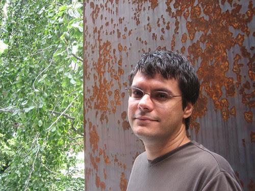 Diego and Richard Serra