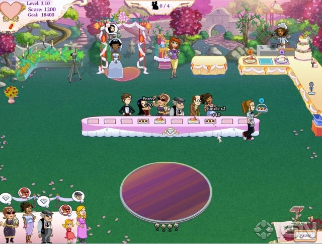 Wedding Dash 4-Ever Screenshot