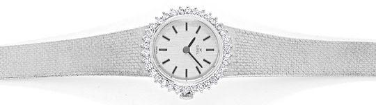 Foto 1, Ebel Damen-Armbanduhr, Brillanten-Lünette Weissgold 18K, U1469