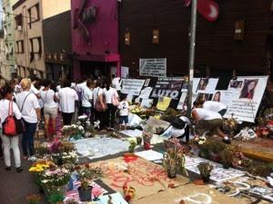 boate Kiss Santa Maria homenagem vítimas internadas (Foto: Marcio Luiz/G1)
