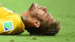 Neymar está fora da Copa do Mundo