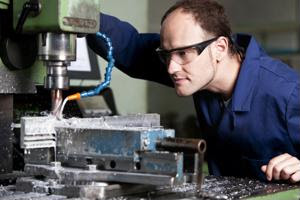 Manufacturing sector in the market for skilled laborers