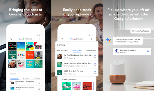 Google Podcasts ready to launch globally on Android with 2 million indexed podcasts