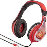 eKids Cars Headphones w/ Built in Volume Limiting Feature