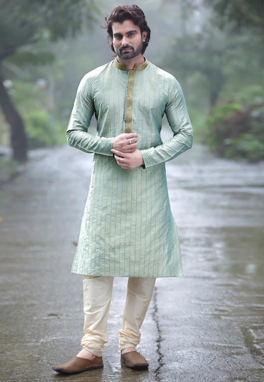 Throw a Swag with Traditional Ultra Styled Kurta Pajama