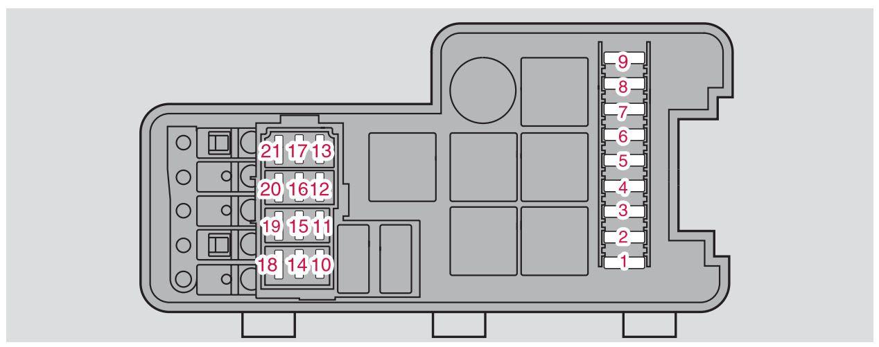 Volvo S80 2006 Fuse Box Diagram Auto Genius