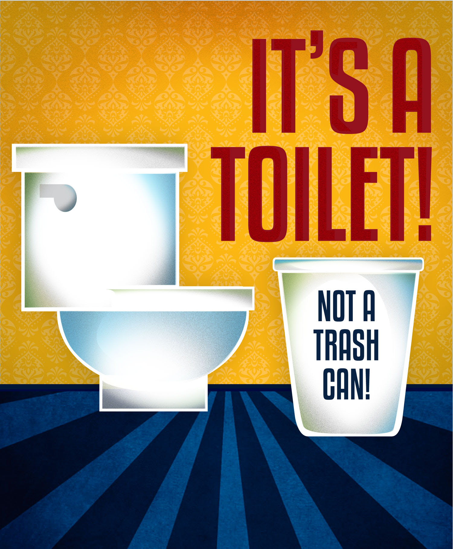 MWRA - It's a Toilet, Not a Trash Can!
